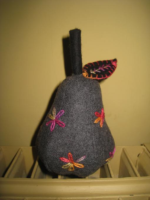 A new wool pear inspired by Maryke Phillips