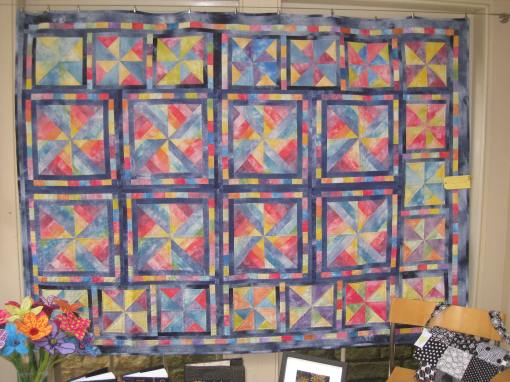 Margaret's quilt for charity
